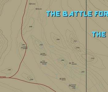 Copyright 2020 Image is a topographic rendition of the primary setting of The Battle for Allegra season one.